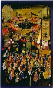 London underground poster - City centre
